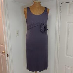 100% silk sleeveless dress